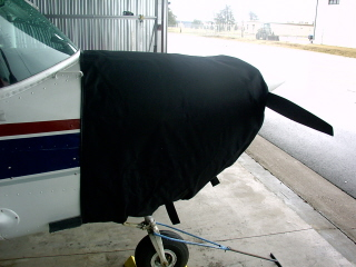 Cessna 150 thermo cowling cover