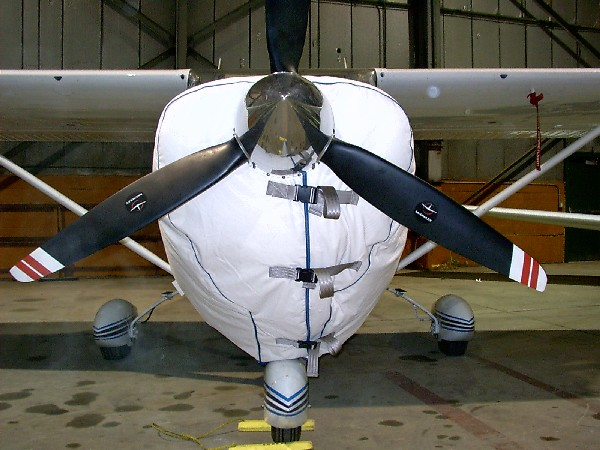 Cessna 182 therom cowling cover