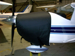 Cessna 182, 172 thermo cowling cover