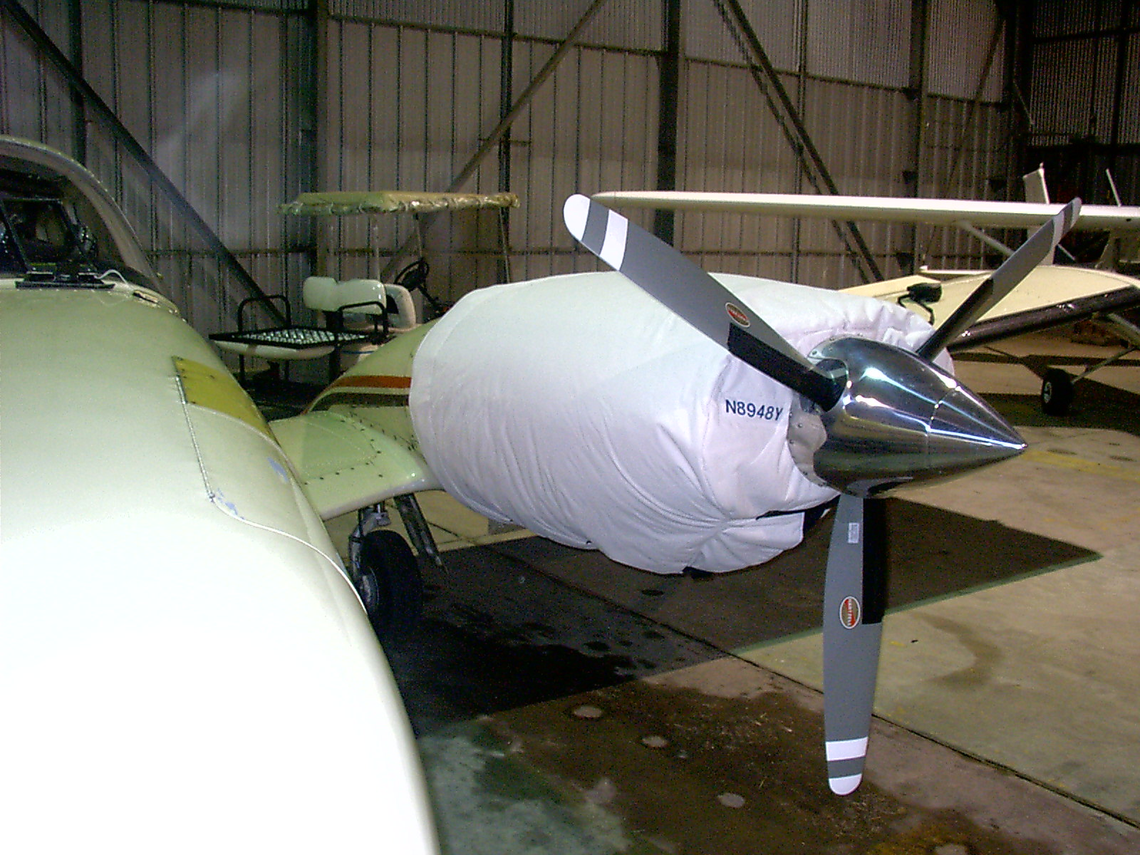 Piperand Cessna  twin engine thermo cowling cover blanket
